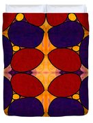 Naturally Dimensional Abstract Bliss Art By Omashte Duvet Cover