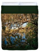 Naturally Florida Duvet Cover