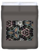 Nature And Geometry Duvet Cover