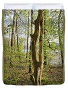 Nature, Bare Tree. Duvet Cover