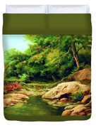 Nature Is Beautiful Impressionism Duvet Cover