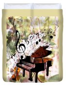 Nature Is Music To My Soul Duvet Cover