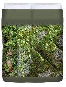 Nature - Living Retention Wall 1 Duvet Cover