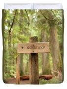 Nature Loop Sign Duvet Cover