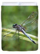 Nature Macro - Blue Dragonfly Duvet Cover
