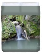 Nature Spring Scene Creek Duvet Cover