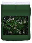 nature Ukraine blooming chestnuts Duvet Cover