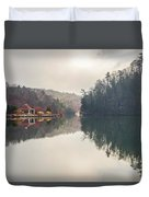 Nature Views Near Chimney Rock And Lake Lure Duvet Cover