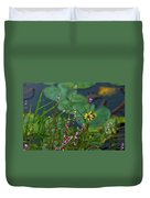 Nature Water Garden Duvet Cover