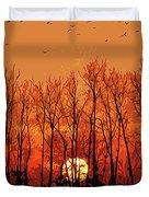 Nature's Altar Duvet Cover
