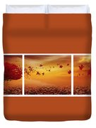 Nature's Art Duvet Cover by Lourry Legarde