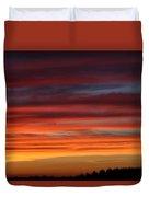 Midwest Sunset Duvet Cover