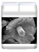 Nature's Beauty In Black And White Duvet Cover