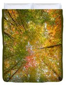 Natures Canopy Of Color  Duvet Cover