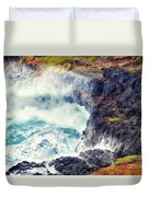 Natures Cauldron Duvet Cover