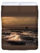 Natures Drama 4 Duvet Cover by Kim Loftis