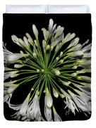 Natures Fireworks - Lily Of The Nile 005 Duvet Cover