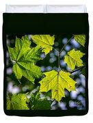 Natures Going Green Design Duvet Cover