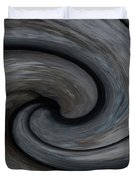 Nature's Illusions- Yin And Yang Duvet Cover
