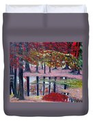 Natures Painting Duvet Cover