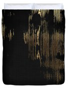 Nature's Secret Code - The Wood Grain Message #3 Duvet Cover