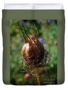 Nature's Seed Vase Duvet Cover