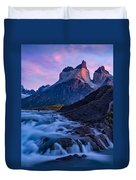 Nature's Sunrise Canvas Duvet Cover