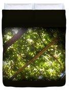 Nature's Upward View Duvet Cover