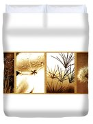 Nature's Window Duvet Cover