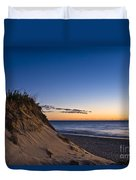 Nauset Beach Sunrise Duvet Cover