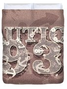 Nautical 1934 Duvet Cover