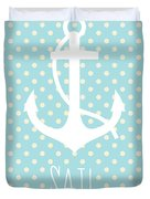 Nautical Anchor Duvet Cover