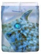 Nautical Beach And Fish #4 Duvet Cover