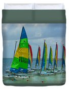 Nautical Travel Duvet Cover
