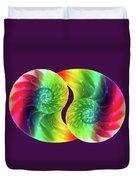 Nautilus Rainbow Duvet Cover