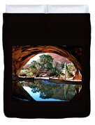 Navajo Arch Reflection Duvet Cover