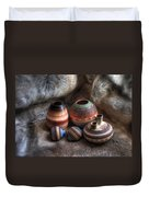 Navajo Pottery Duvet Cover
