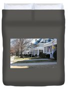 Naval Academy - Captains Row Duvet Cover