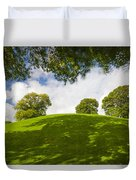 Navan Fort Duvet Cover