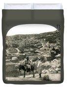 Nazareth, Palestine, C1920 Duvet Cover