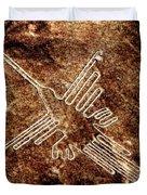 Nazca Hummingbird Duvet Cover