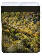 Nc Fall Foliage 0545 Duvet Cover