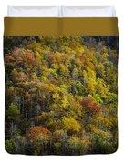 Nc Fall Foliage 0559 Duvet Cover