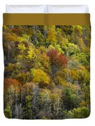 Nc Fall Foliage 0561 Duvet Cover