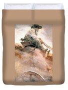 N.c. Wyeth: Ore Wagon Duvet Cover