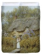 Near Freshwater Isle Of Wight Duvet Cover