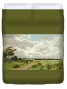 Near Liverpool. New South Wales Duvet Cover