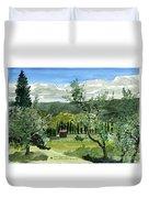 Near San Giovanalle Tuscany Duvet Cover