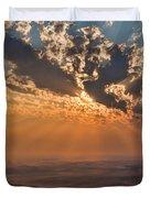 Near Sunset Duvet Cover