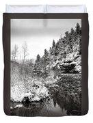 Near Telluride Colorado Duvet Cover